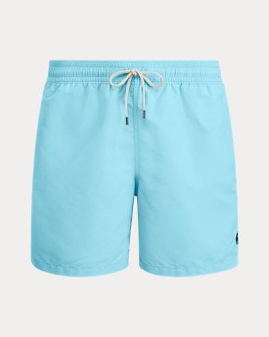 폴로 랄프로렌 수영복 Polo Ralph Lauren 5¾-Inch Traveler Swim Trunk,Hammond Blue
