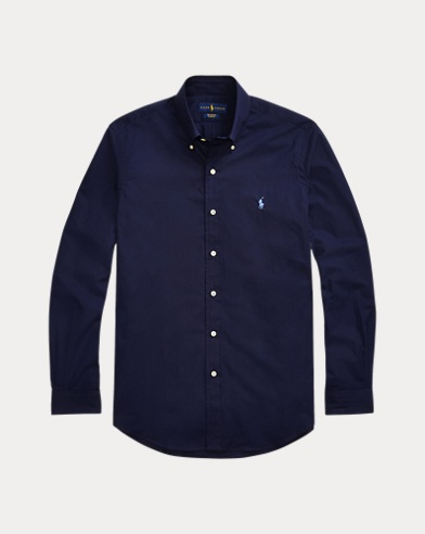 폴로 랄프로렌 Polo Ralph Lauren Poplin Shirt - All Fits,Newport Navy