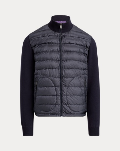 폴로 랄프로렌 Polo Ralph Lauren RLX Hybrid Down Jacket,Classic Chairman Navy