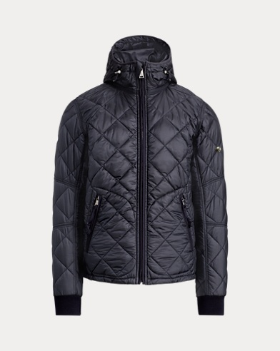 폴로 랄프로렌 Polo Ralph Lauren RLX Lightweight Quilted Jacket,Classic Chairman Navy