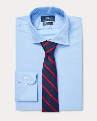 폴로 랄프로렌 Polo Ralph Lauren Slim Fit Twill Shirt,Sky Blue/White