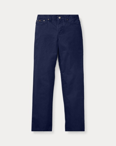 폴로 랄프로렌 보이즈 바지 네이비 Polo Ralph Lauren Varick Slim Fit Cotton Pant,French Navy