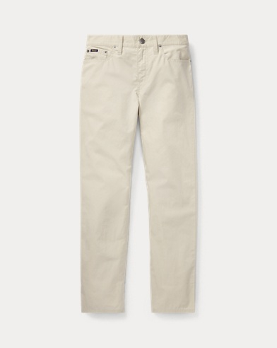 폴로 랄프로렌 보이즈 바지 클래식 스톤 Polo Ralph Lauren Varick Slim Fit Cotton Pant,Classic Stone