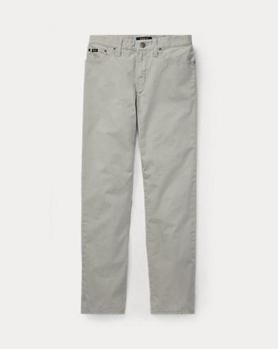 폴로 랄프로렌 보이즈 바지 소프트 그레이 Polo Ralph Lauren Varick Slim Fit Cotton Pant,Soft Grey