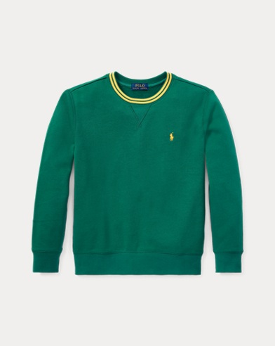 폴로 랄프로렌 Polo Ralph Lauren Cotton-Blend-Fleece Sweatshirt,Bush Green
