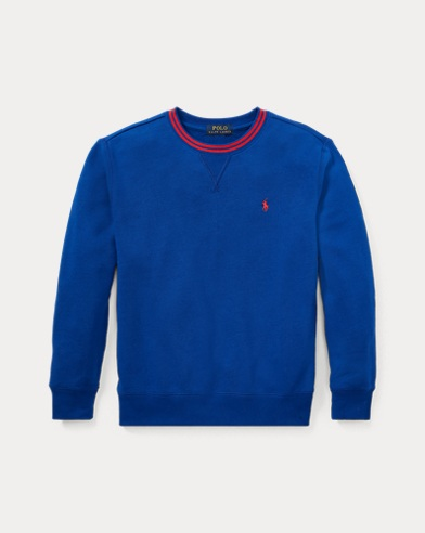 폴로 랄프로렌 Polo Ralph Lauren Cotton-Blend-Fleece Sweatshirt,Sistine Blue