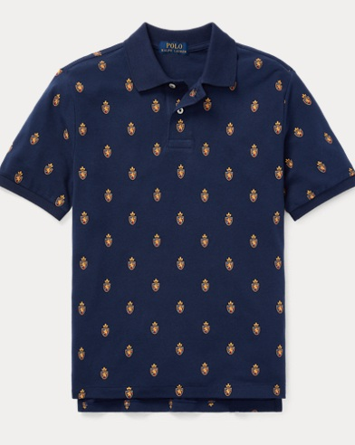 폴로 랄프로렌 보이즈 반팔 카라티 네이비 Polo Ralph Lauren Featherweight Cotton Mesh Polo,French Navy Multi
