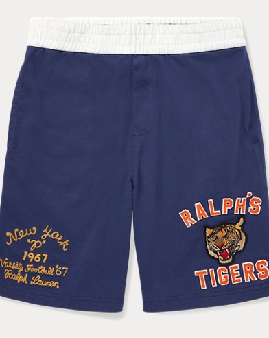 폴로 랄프로렌 보이즈 반바지 네이비 Polo Ralph Lauren Cotton Jersey Graphic Short,Boathouse Navy
