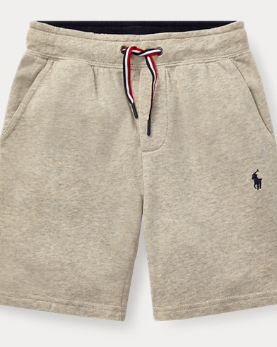 폴로 랄프로렌 보이즈 반바지 베이지 Polo Ralph Lauren Cotton French Terry Short,Light Heather Sport