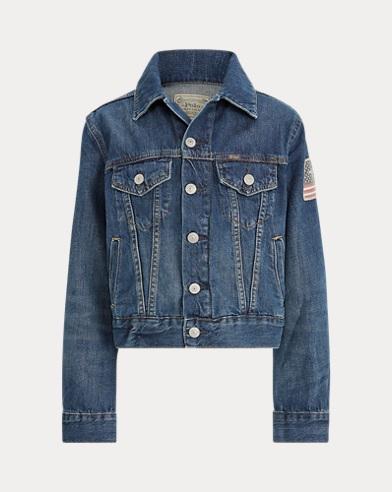 폴로 랄프로렌 보이즈 데님 트러커 자켓 고든 워시 Polo Ralph Lauren Cotton Denim Trucker Jacket,Gordon Wash