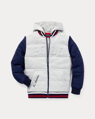 폴로 랄프로렌 Polo Ralph Lauren Hybrid Baseball Jacket,French Navy