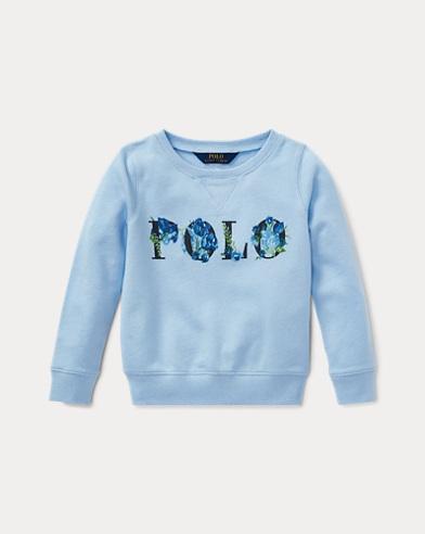 폴로 랄프로렌 여아용 풀오버 엘리트 블루 Polo Ralph Lauren Polo Atlantic Terry Pullover,Elite Blue