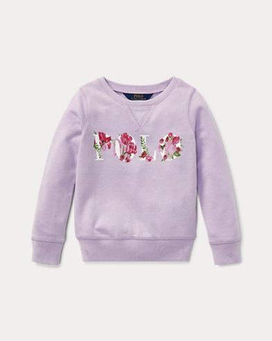 폴로 랄프로렌 여아용 풀오버 라일락 Polo Ralph Lauren Polo Atlantic Terry Pullover,French Lilac