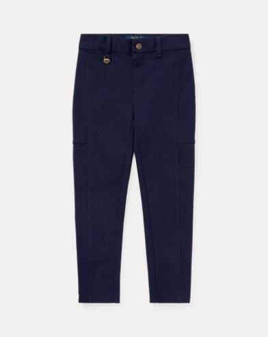 폴로 랄프로렌 여아용 스키니 팬츠 네이비 Polo Ralph Lauren Skinny Ponte Pant,French Navy
