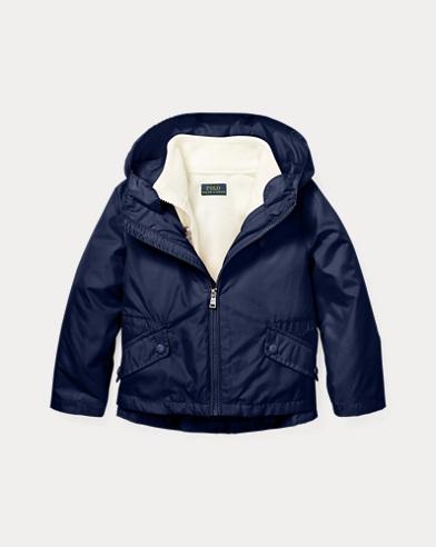 폴로 랄프로렌 여아용 자켓 네이비 Polo Ralph Lauren 3-in-1 Nylon Jacket,French Navy
