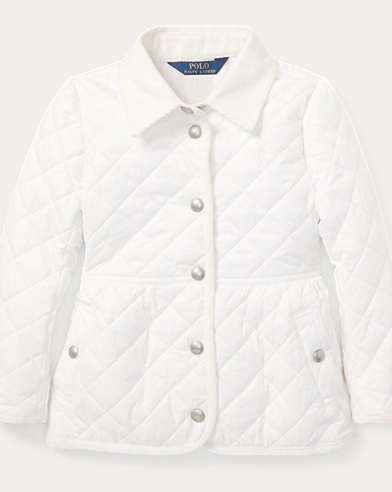 폴로 랄프로렌 여아용 퀼팅 자켓 Polo Ralph Lauren Quilted Barn Jacket,Nevis