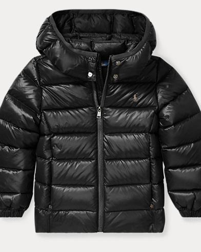 폴로 랄프로렌 여아용 후드 다운 자켓 블랙 Polo Ralph Lauren Hooded Down Jacket,Polo Black