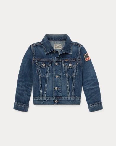 폴로 랄프로렌 남아용 자켓 Polo Ralph Lauren Cotton Denim Trucker Jacket,Gordon Wash