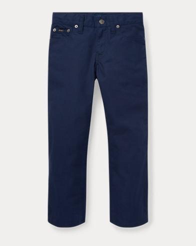 폴로 랄프로렌 남아용 바지 네이비 Polo Ralph Lauren Varick Slim Fit Cotton Pant,French Navy
