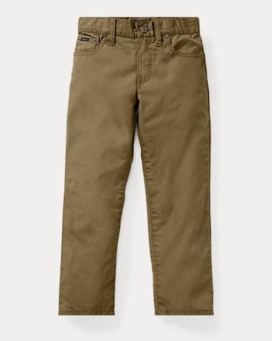 폴로 랄프로렌 남아용 바지 올리브 Polo Ralph Lauren Varick Slim Fit Cotton Pant,Basic Olive