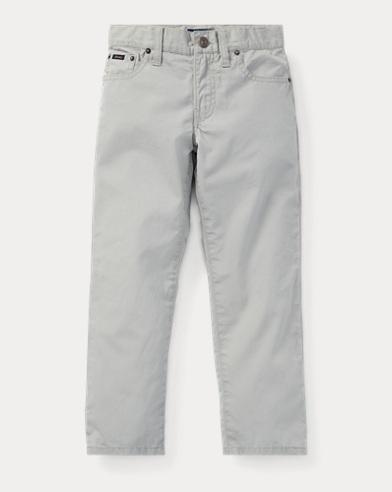 폴로 랄프로렌 남아용 바지 소프트 그레이 Polo Ralph Lauren Varick Slim Fit Cotton Pant,Soft Grey