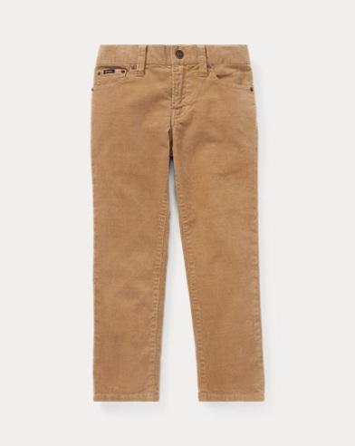 폴로 랄프로렌 남아용 스키니 팬츠 카키 Polo Ralph Lauren Stretch Corduroy Skinny Pant,Montana Khaki
