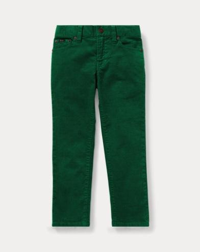 폴로 랄프로렌 남아용 스키니 팬츠 Polo Ralph Lauren Stretch Corduroy Skinny Pant,Bush Green