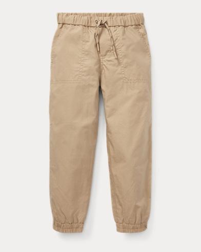 폴로 랄프로렌 남아용 조거 팬츠 카키 Polo Ralph Lauren Cotton Poplin Jogger,Classic Khaki