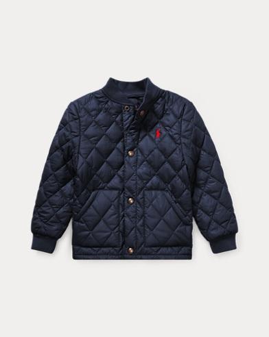 폴로 랄프로렌 남아용 퀼팅 야구 자켓 네이비 Polo Ralph Lauren Quilted Baseball Jacket,French Navy