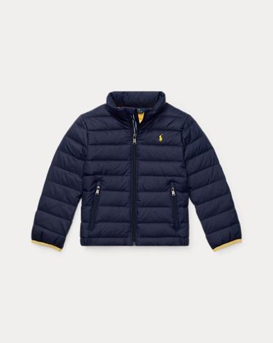 폴로 랄프로렌 남아용 650필 파워 숏패딩 Polo Ralph Lauren Packable Down Jacket,French Navy