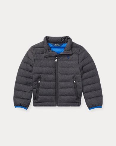폴로 랄프로렌 남아용 퀼팅 자켓 그레이 Polo Ralph Lauren Quilted Down Jacket,Mechanic Grey