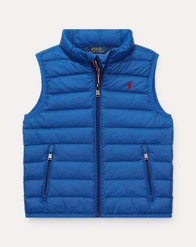 폴로 랄프로렌 남아용 퀼팅 베스트 Polo Ralph Lauren Packable Quilted Down Vest,Rugby Royal