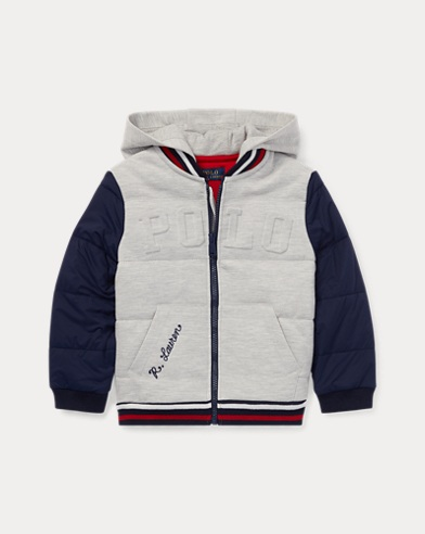 폴로 랄프로렌 남아용 베이스볼 자켓 네이비 Polo Ralph Lauren Hybrid Baseball Jacket,French Navy
