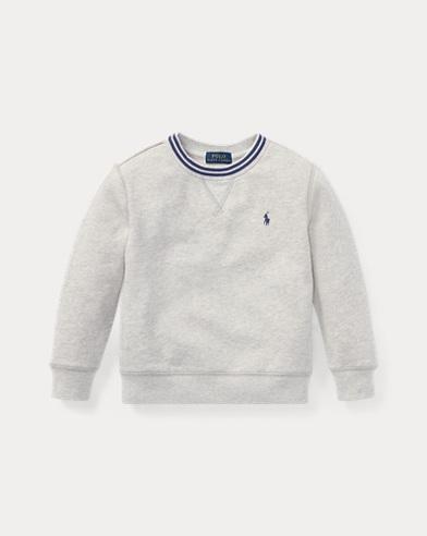 폴로 랄프로렌 남아용 맨투맨/스웻셔츠 Polo Ralph Lauren Cotton-Blend-Fleece Sweatshirt,Light Sport Heather
