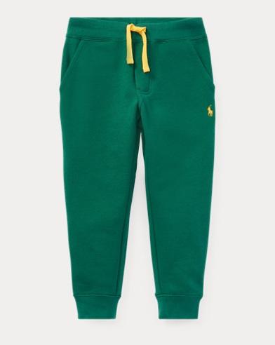 폴로 랄프로렌 남아용 바지 그린 Polo Ralph Lauren Cotton-Blend-Fleece Pant,Bush Green