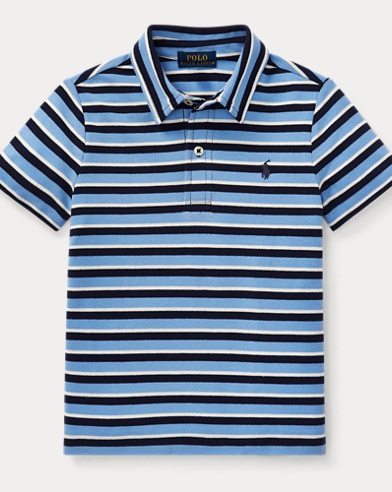 폴로 랄프로렌 남아용 반팔 카라티 블루 Polo Ralph Lauren Featherweight Cotton Mesh Polo,Gentry Blue Multi