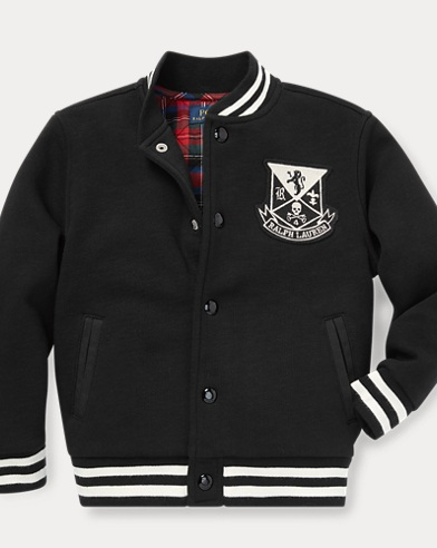 폴로 랄프로렌 남아용 자켓 블랙 Polo Ralph Lauren Cotton-Blend-Fleece Jacket,Polo Black