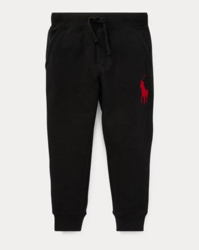 폴로 랄프로렌 남아용 바지 블랙 Polo Ralph Lauren Cotton-Blend-Fleece Pant,Polo Black