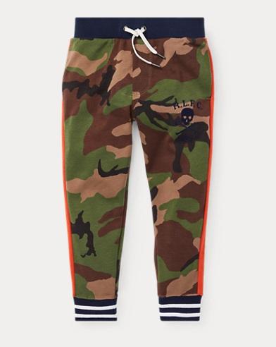 폴로 랄프로렌 Polo Ralph Lauren Camo Cotton Track Pant,Surplus Camo