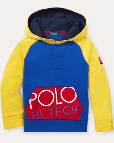 폴로 랄프로렌 남아용 후드티 Polo Ralph Lauren Hi Tech Double-Knit Hoodie,Bright Royal