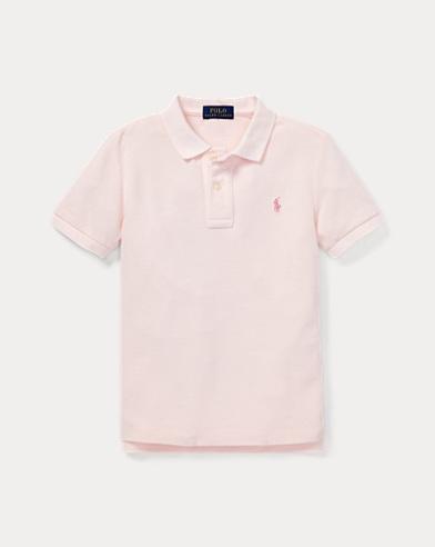폴로 랄프로렌 남아용 핑크포니 반팔 폴로셔츠 Polo Ralph Lauren Pink Pony Cotton Mesh Polo,Taylor Rose