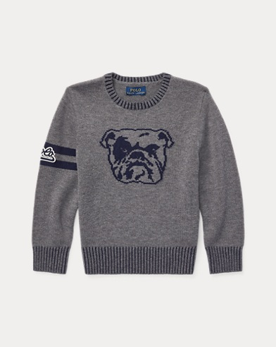 폴로 랄프로렌 남아용 스웨터 Polo Ralph Lauren Dog Merino-Cotton Sweater,Andover Heather Multi
