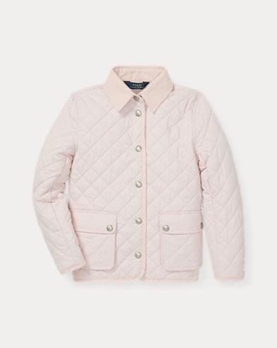 폴로 랄프로렌 Polo Ralph Lauren Quilted Barn Jacket,Hint Of Pink