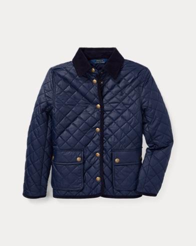 폴로 랄프로렌 Polo Ralph Lauren Quilted Barn Jacket,French Navy