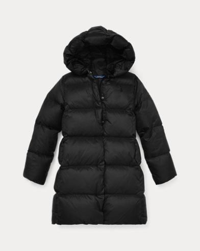 폴로 랄프로렌 Polo Ralph Lauren Long Hooded Down Jacket,Polo Black