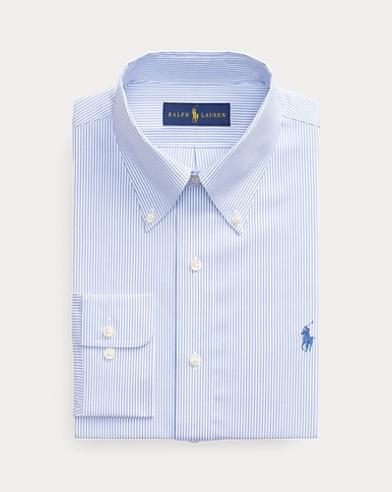 폴로 랄프로렌 커스텀핏 스트라이프 셔츠 Polo Ralph Lauren Custom Fit Striped Shirt,Blue/White