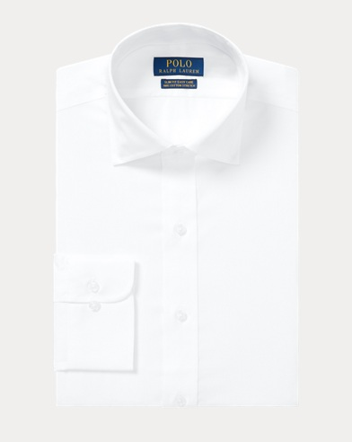 폴로 랄프로렌 Polo Ralph Lauren Custom Fit Easy Care Shirt,White