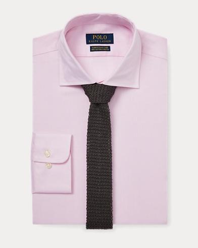 폴로 랄프로렌 Polo Ralph Lauren Slim Fit Easy Care Shirt,Pink/White