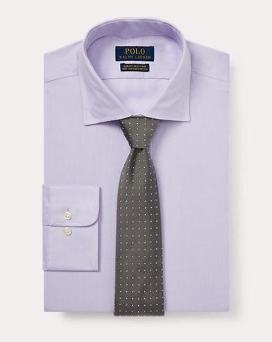폴로 랄프로렌 Polo Ralph Lauren Slim Fit Easy Care Shirt,Lavender/White