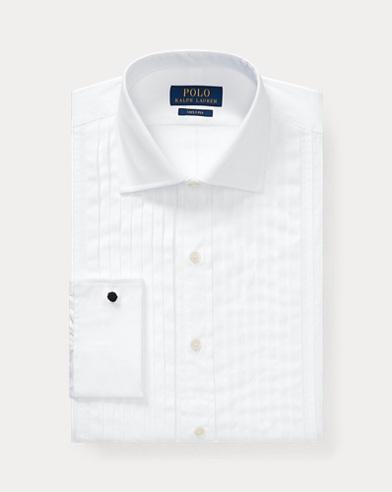 폴로 랄프로렌 화이트 턱시도 셔츠 (커스텀핏) Polo Ralph Lauren Custom Fit Tuxedo Shirt,White
